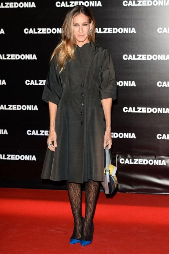 Sarah Jessica Parker calzedonia show in Rimini