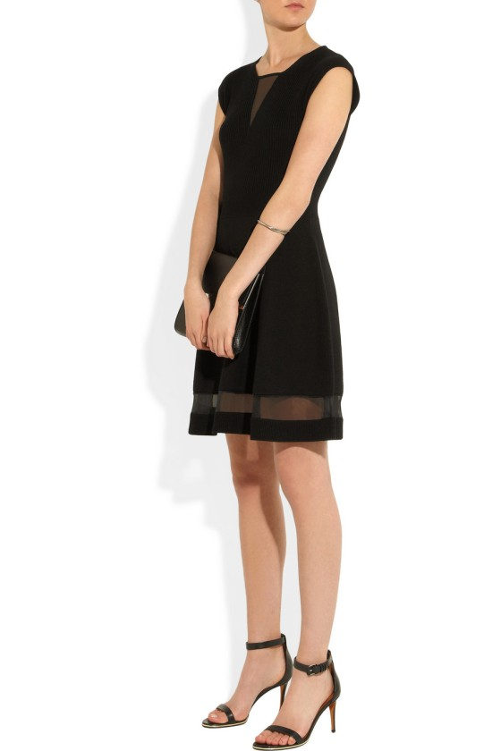 12. THAKOON Ribbed-knit wool dress £468.12