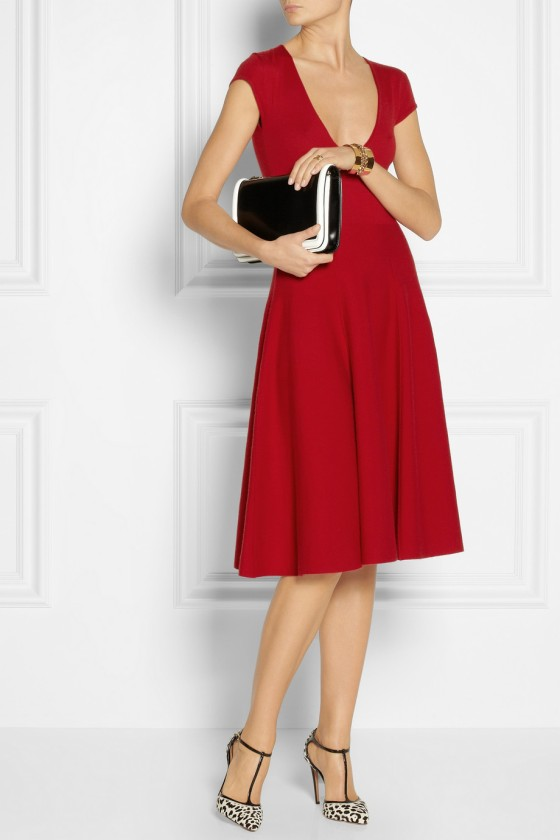 13. DONNA KARAN Wool-blend dress £1,120