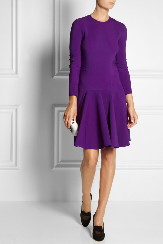 14. STELLA MCCARTNEY Fluted stretch-cady dress £616.88