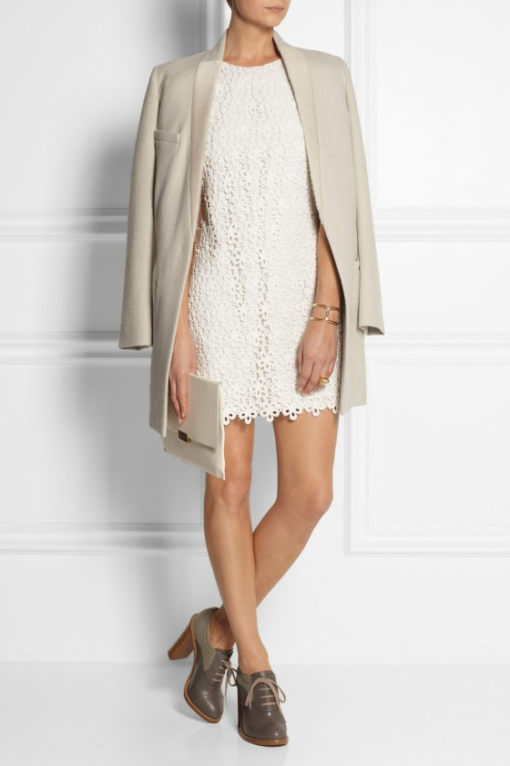 19. J.CREW Mia cotton-macramé dress £301.88