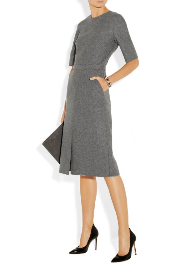 2. VICTORIA,VICTORIA BECKHAM Wool-felt dress £681