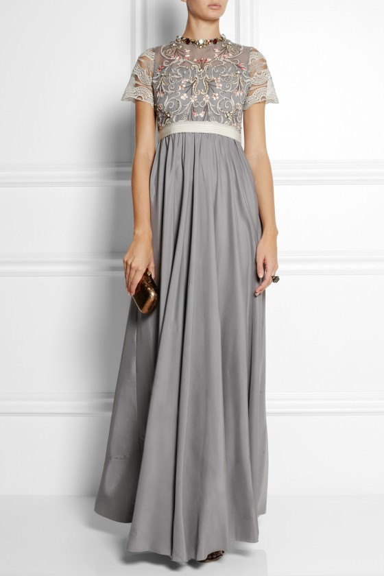 24. BIYAN Isobel embellished tulle and satin gown £1,347.50