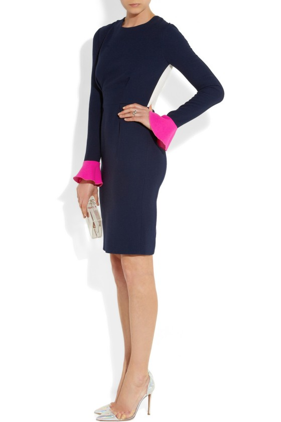 26. ROKSANDA ILINCIC Izumi color-block wool-crepe dress £881