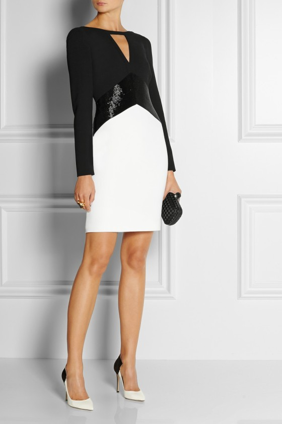 29. EMILIO PUCCI Bead-embellished stretch-wool crepe mini dress £1,420