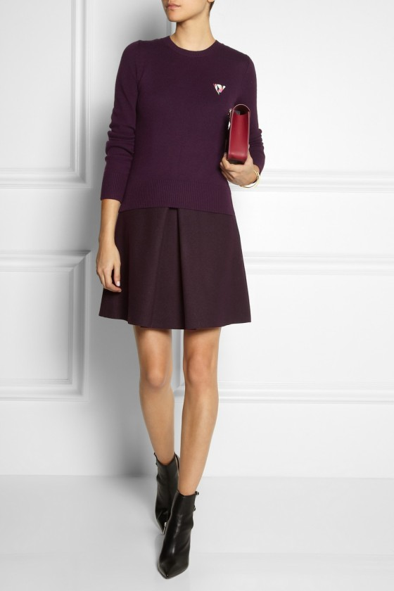 32. VICTORIA,VICTORIA BECKHAM Merino wool-blend and felt dress £778