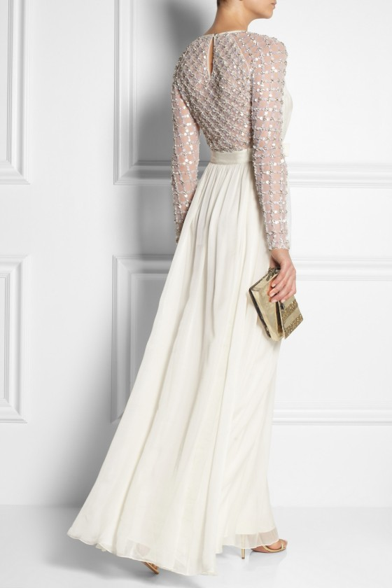 33. TEMPERLEY LONDON Angeli embellished silk-chiffon and tulle gown £2,244.38