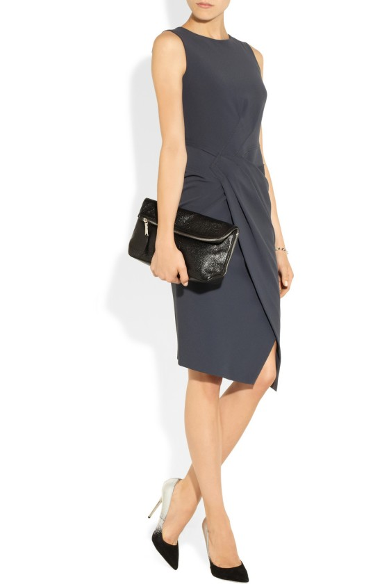 6. DONNA KARAN Gathered jersey dress £1,395.63