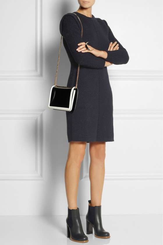 7. CHLOÉ Wool, silk and cashmere-blend sweater dress £982