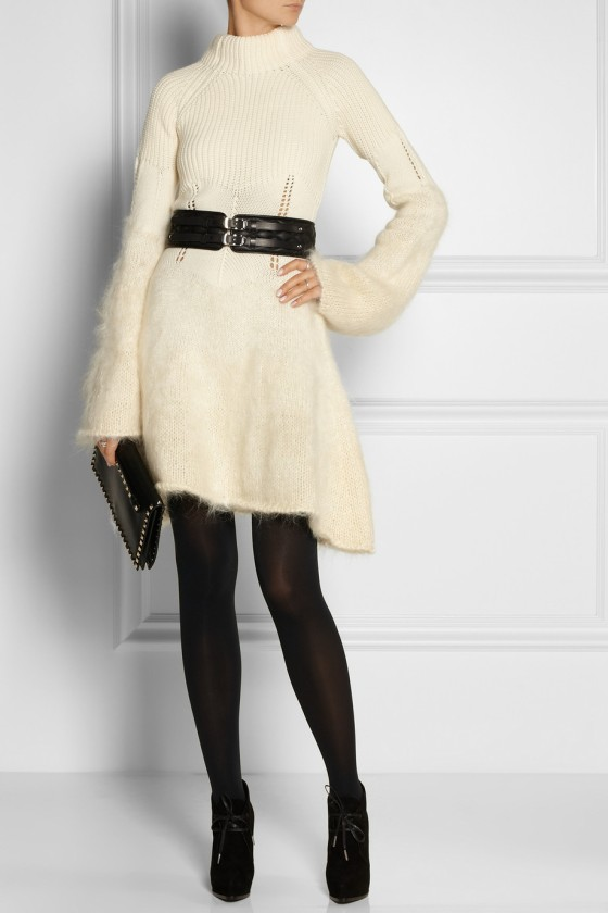8. MCQ ALEXANDER MCQUEEN Dégradé wool and mohair dress £640